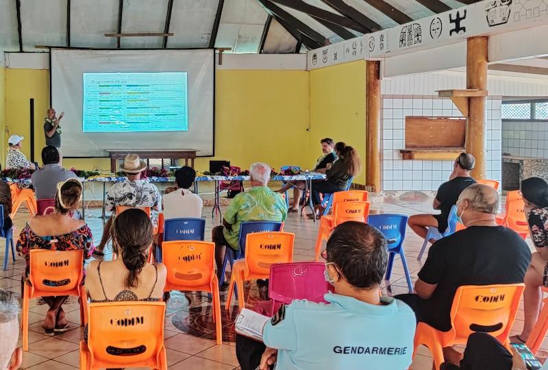La compagnie Tahiti Air Charter a tenu une réunion d'information jeudi à Ua Pou pour préciser les modalités de mise en place de ses vols. Elle a tenu à rassurer la population.