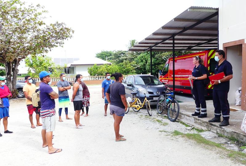 Dix candidats se sont présentés aux épreuves de sélection de recrutement de sapeurs-pompiers organisées par la commune de Rangiroa.