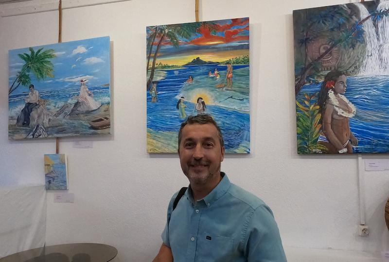 Guy Fitzer, administrateur d'État et artiste peintre.