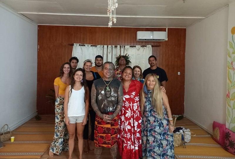Une trentaine de participants étaient présents à la conférence de Te papa Tupuna vendredi à Uturoa.