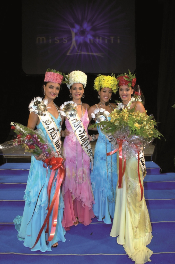 Terehe Pere, Miss Tahiti 2006