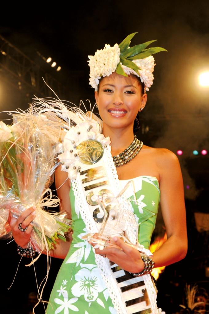 Hinatea Boosie, Miss Tahiti 2008