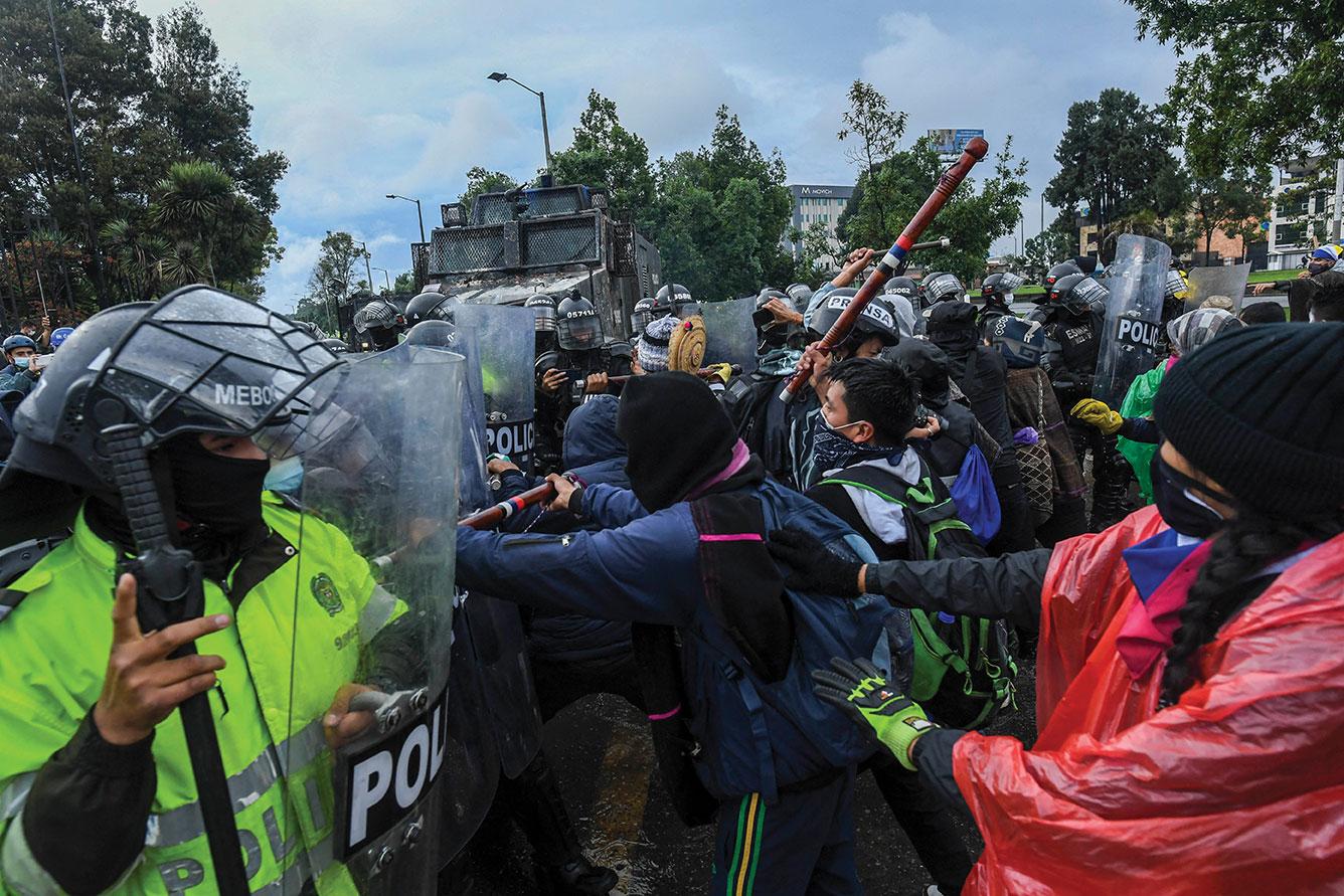 Colombie: des milliers de manifestants à nouveau dans les rues