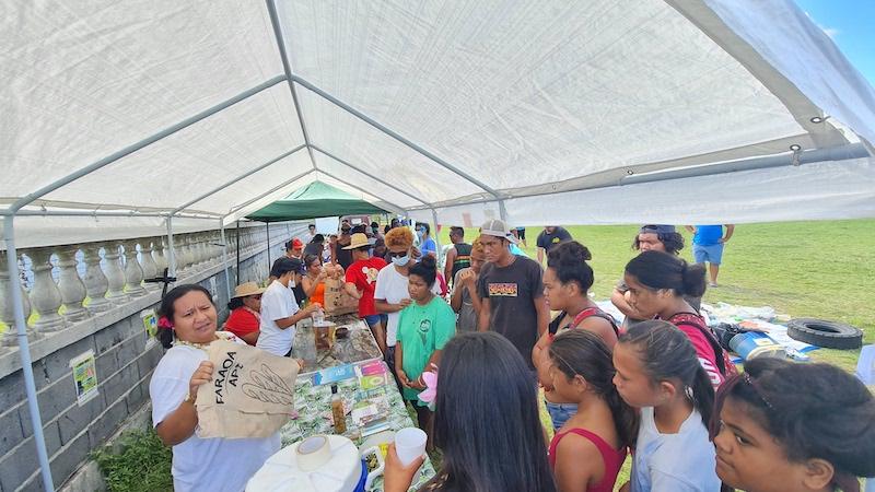 Rangiroa se mobilise pour la journée mondiale de l'océan