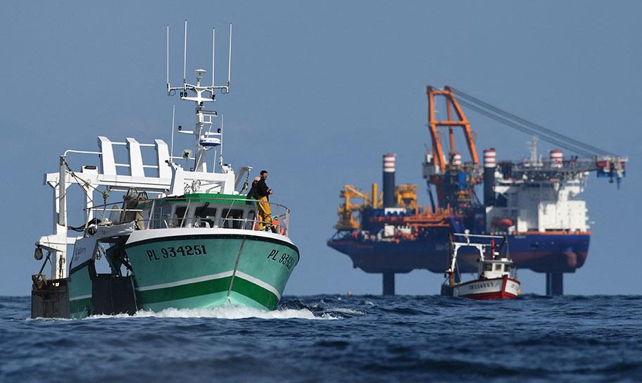 """Eolien: pollution maritime """"significative"""" en baie de Saint-Brieuc"""