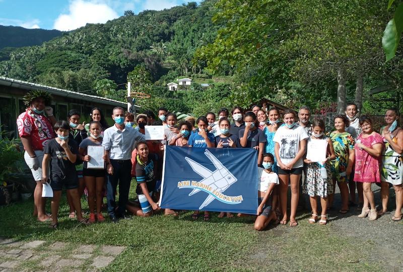 Les collégiens veillent sur la baie de Cook