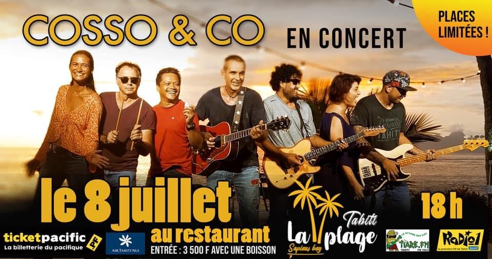 Cosso & Co : un concert à la Plage avant une tournée en Europe