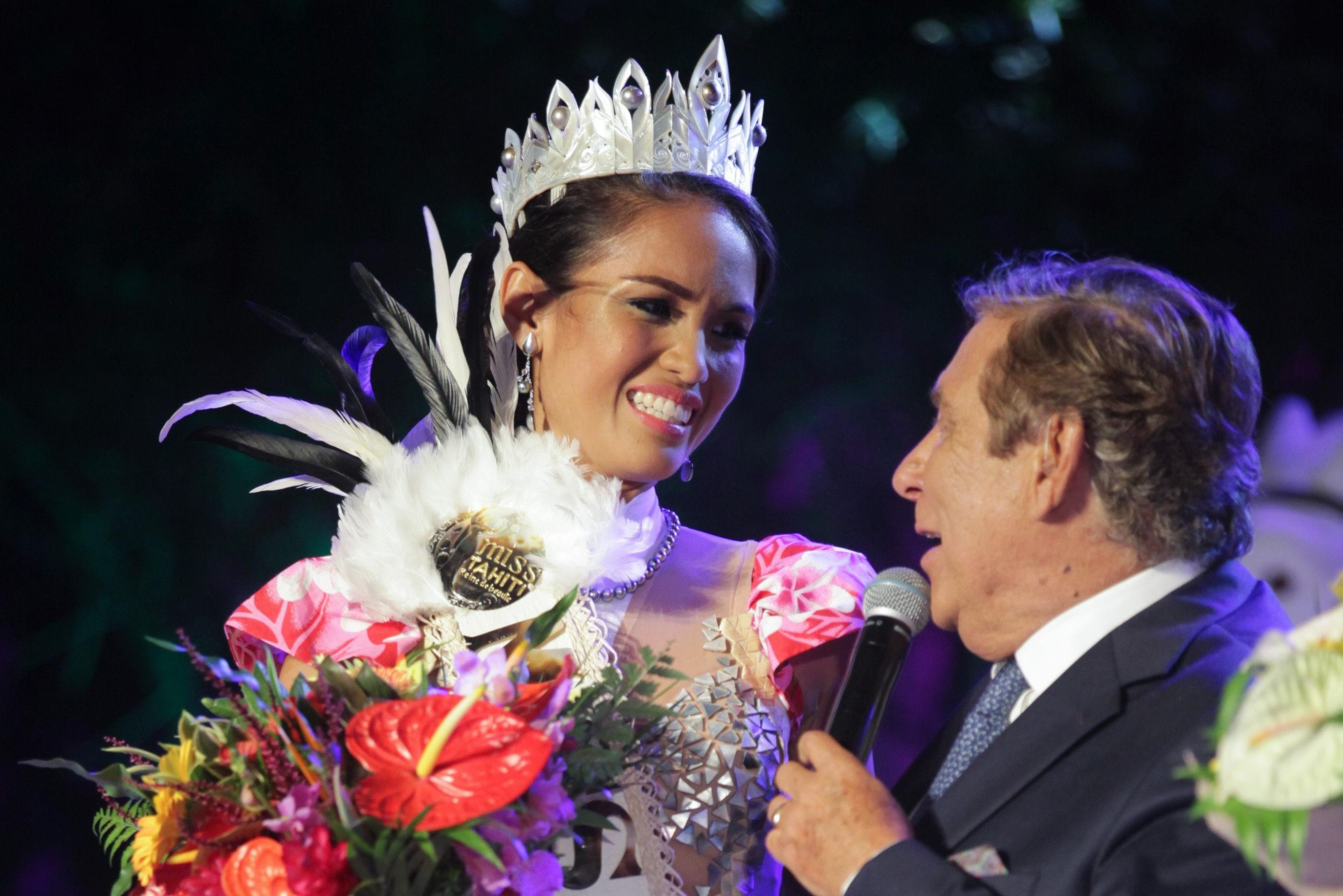 Tumateata Buisson, élue Miss Tahiti 2021