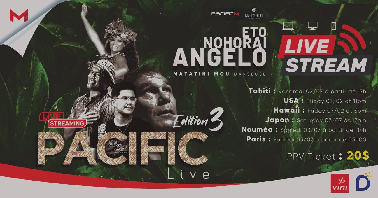 Pacific Live, 3e opus