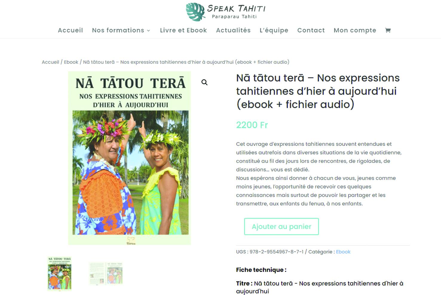 Tā'atira'a Parau : cap sur le numérique