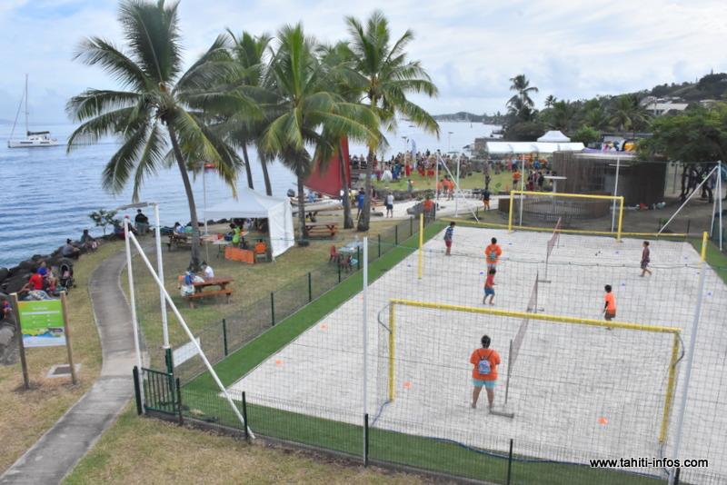 Le parc de Taapuna ouvert dans son intégralité
