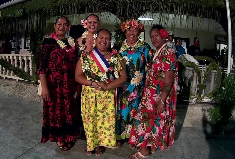 Le comité du Heiva 2021, exclusivement féminin.