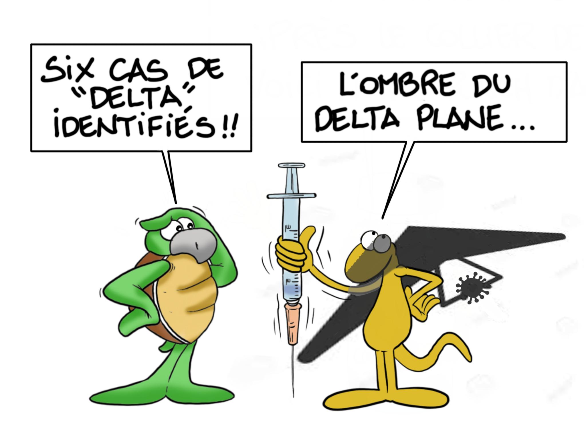 """""""Delta Plane"""", par Munoz"""