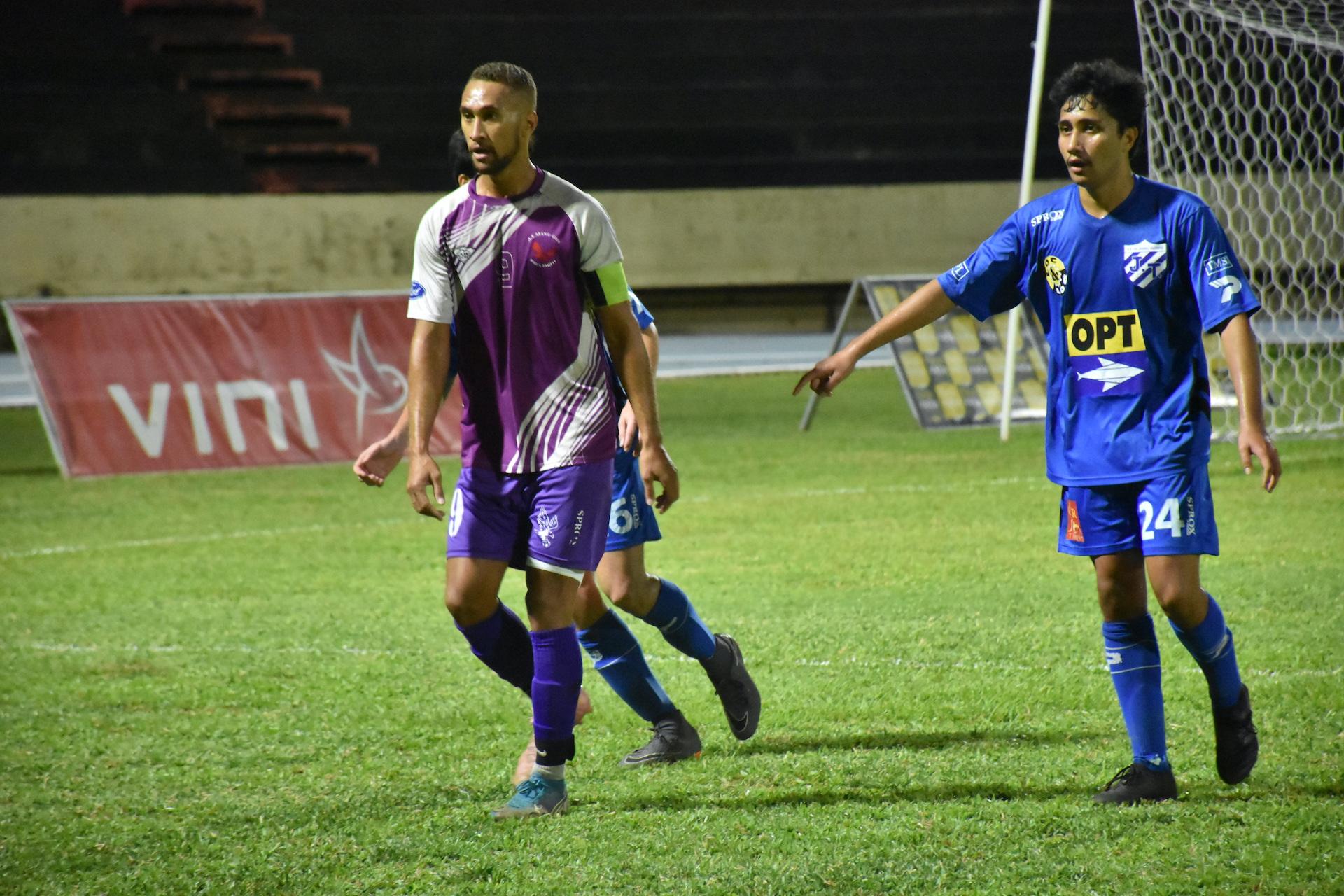 Matatia Paama et Manu Ura joueront leur place en Ligue 1 le week-end prochain face à Temanava, vice-champion de Ligue 2.