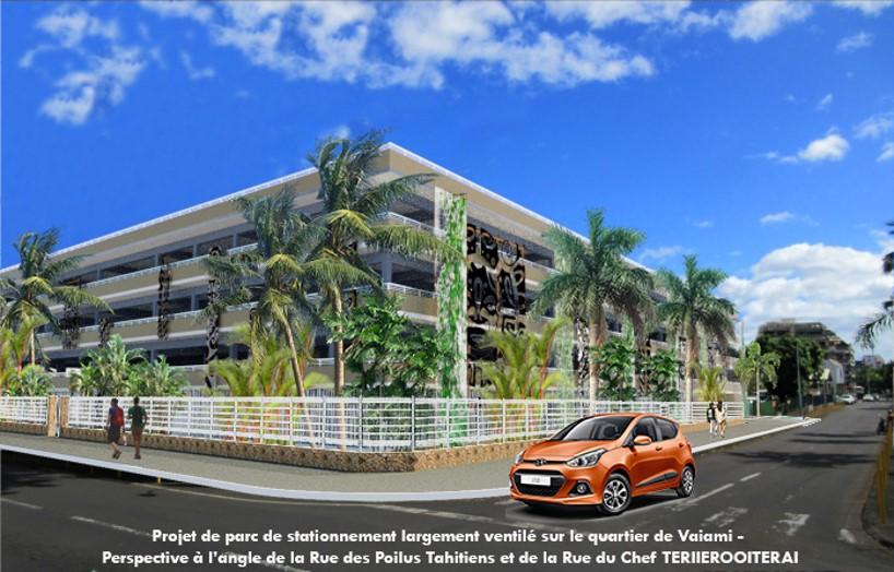 Un parking de 500 places gratuites à Papeete qui ne fait pas l'unanimité
