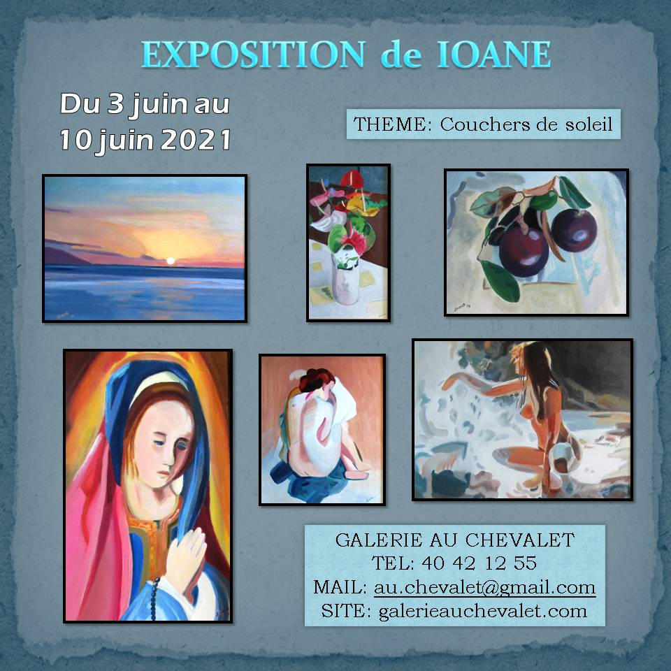 Derniers jours d'expo pour Ioané