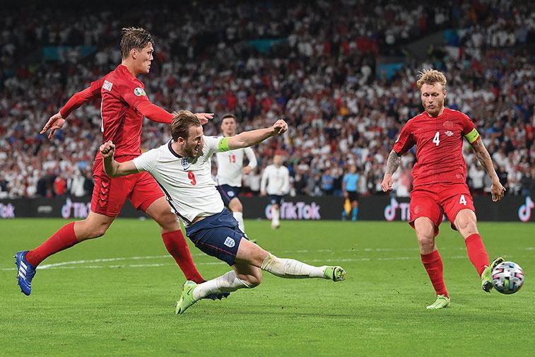 L'Angleterre renverse le Danemark (2-1 a.p.) et affrontera l'Italie en finale