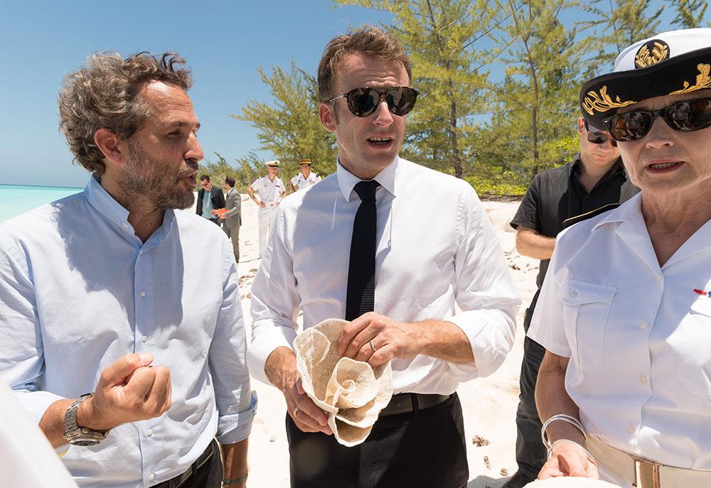 Emmanuel Macron en Polynésie du 24 au 27 juillet