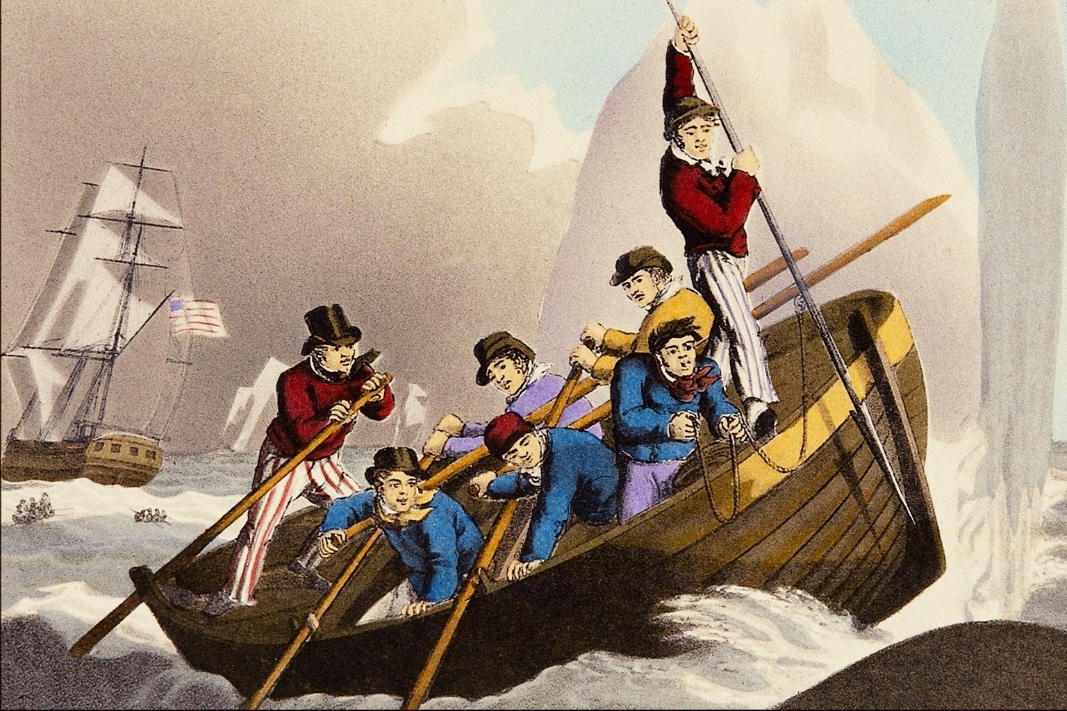 Le projet de Watkins sur Floreana était de s'emparer de tout un bateau en escale, mais faute d'armes à feu en quantité suffisante, il s'évada de son île avec quatre compagnons à bord d'une baleinière.