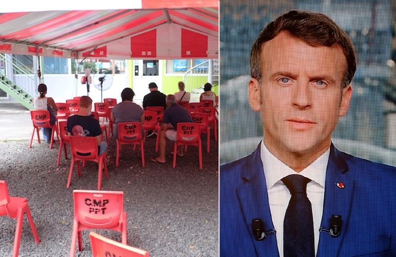 Les annonces de Macron sans grand effet sur la vaccination au fenua