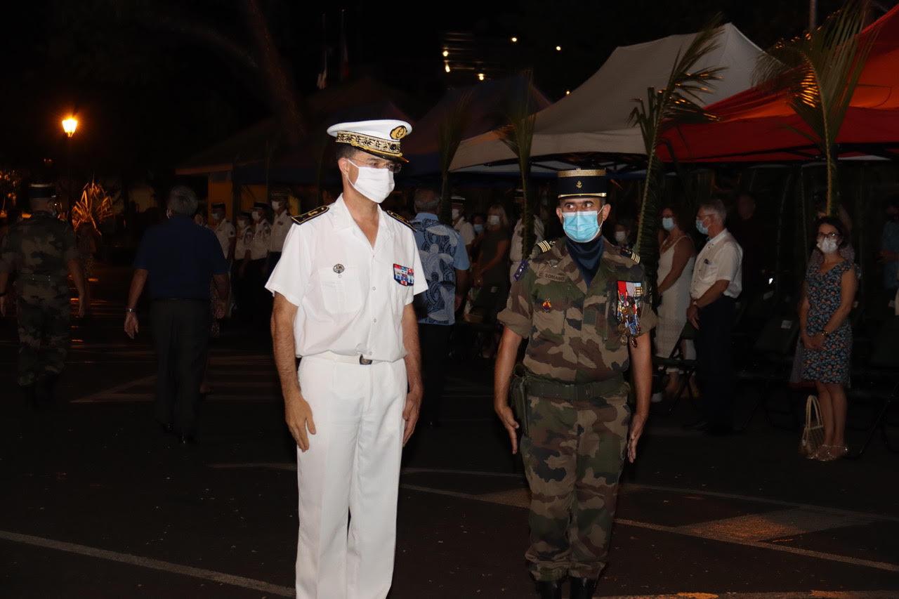 Le lieutenant-colonel Fabrice Avenel à la tête du RSMA