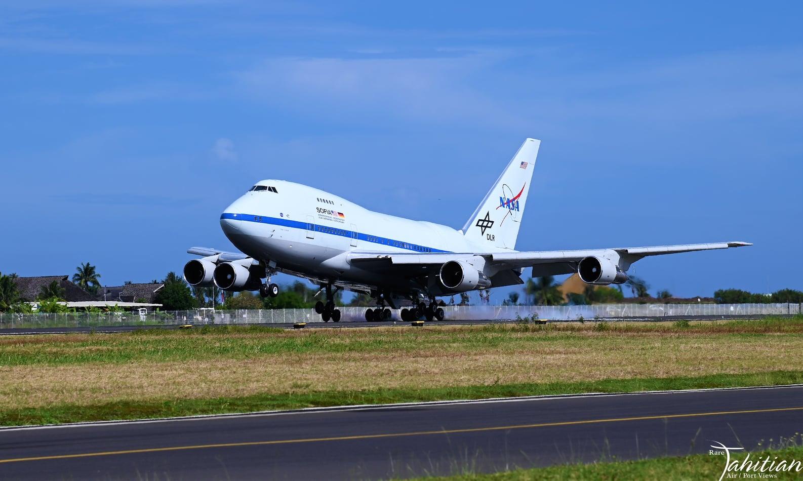 Le Boeing de la Nasa s'est posé à Tahiti