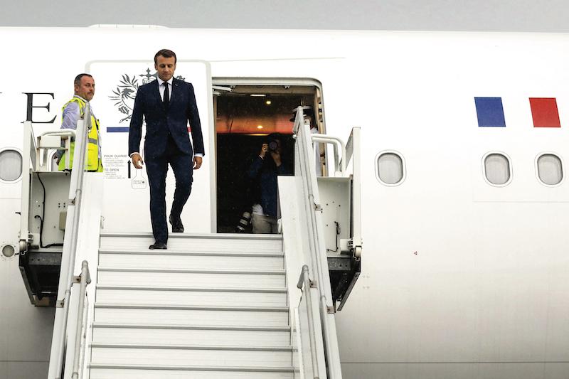 Covid, climat et nucléaire au programme de la visite présidentielle au fenua