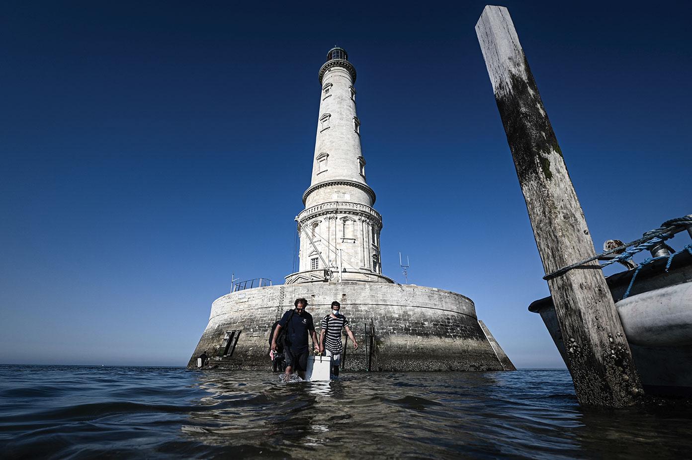 """Dans l'estuaire de la Gironde, Cordouan, le """"roi des phares"""", espère son sacre à l'Unesco"""