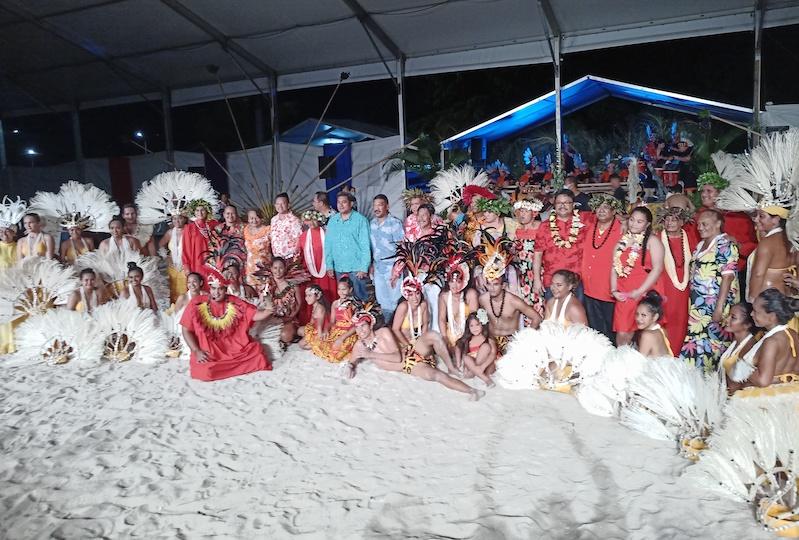 Les troupes de danse réunies de retour à Bora Bora