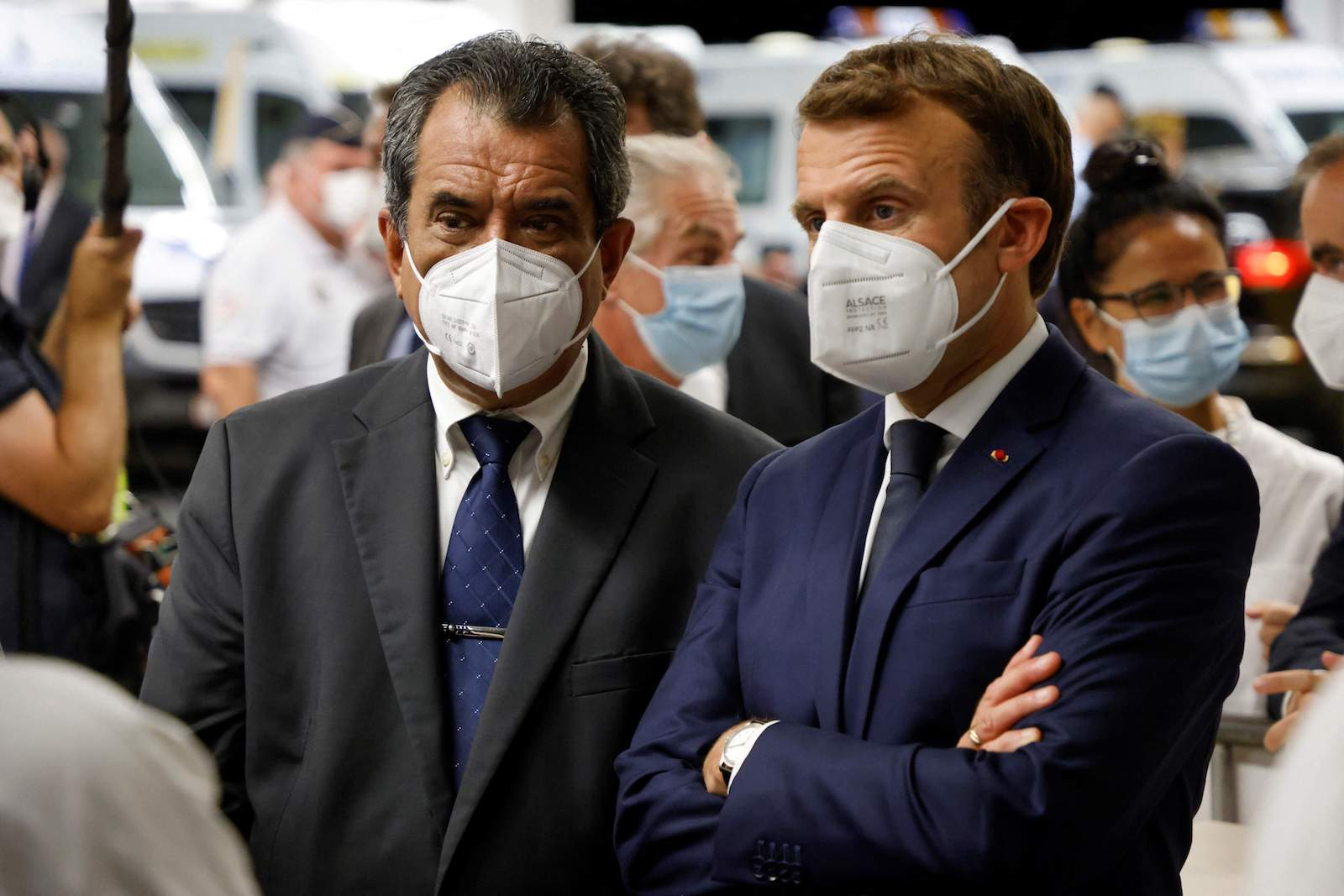 """Edouard Fritch : """"Nous avons demandé un deuxième emprunt au Président"""""""