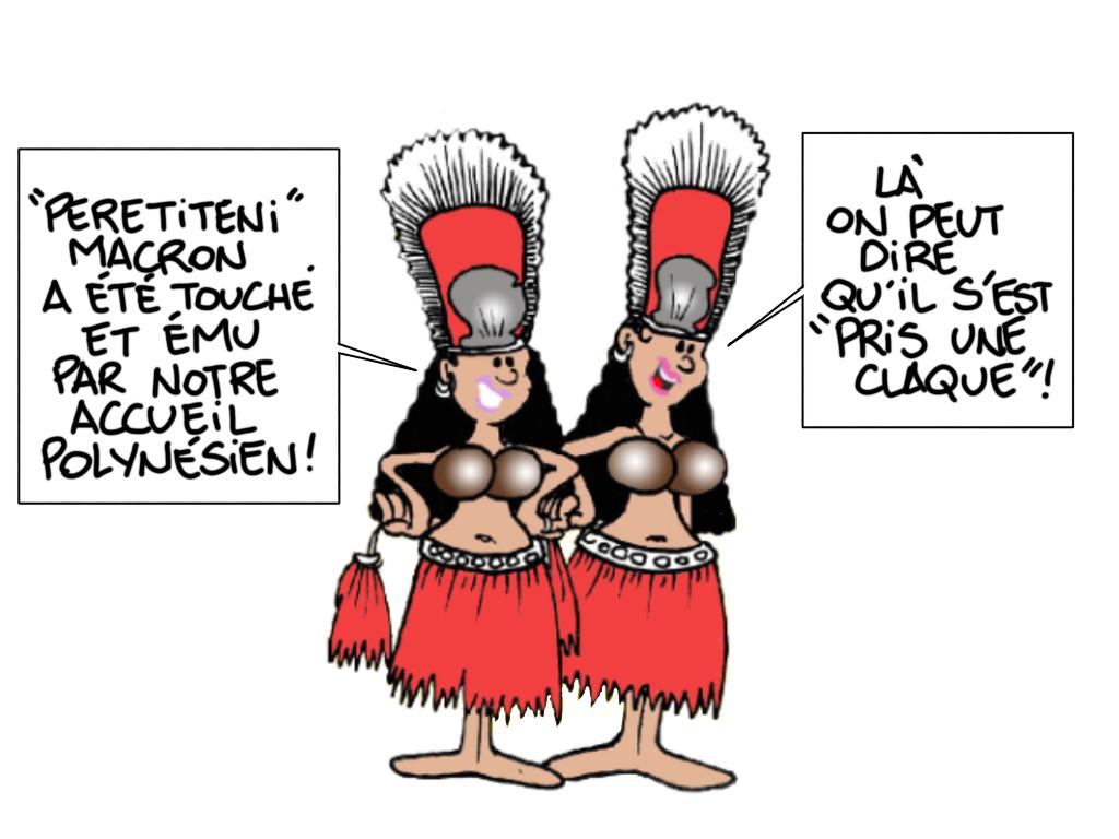 """""""La claque locale"""", par Munoz"""