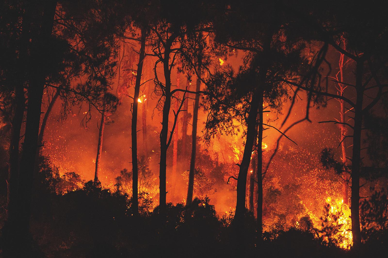Le sud de l'Europe en flammes