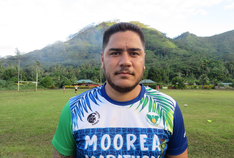 Watson Poroi, président du club souhaite que Jeunesse Rugby Moorea s'inscrire dans la durée.