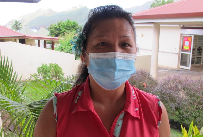Mireille Tevaria, directrice de l'école Patoa de Taiohae.