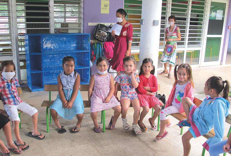 Les enfants des classes de maternelle ont dû faire connaissance avec leurs nouveaux enseignants.