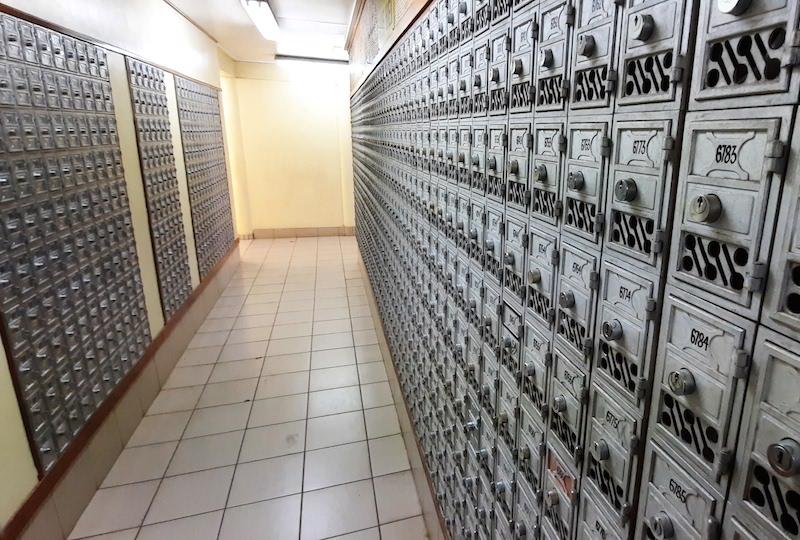 Nouveau revers de Fare Rata sur les boîtes postales