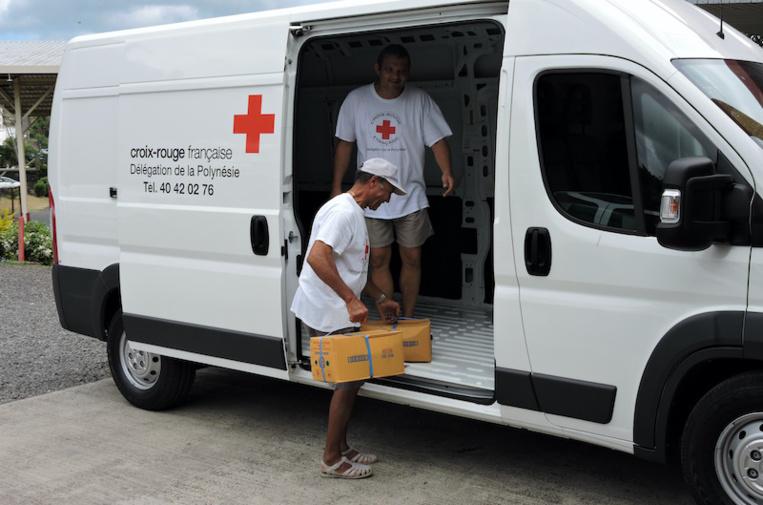 Le retour du don à la Croix-Rouge, pour éviter les amendes