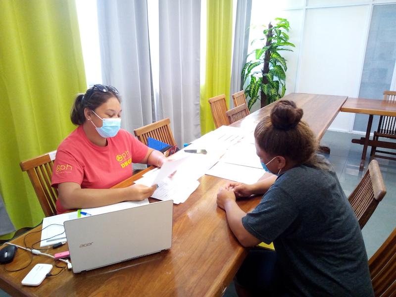 L'OPH en mission de contrôles et de projet à Hao