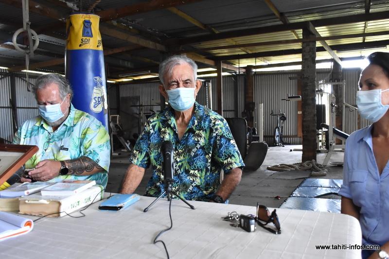 Oscar Temaru a annoncé jeudi qu'il est favorable à la vaccination anti-Covid.