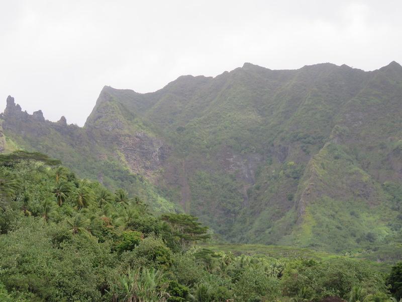 Des touristes en détresse dans les monts de Moorea