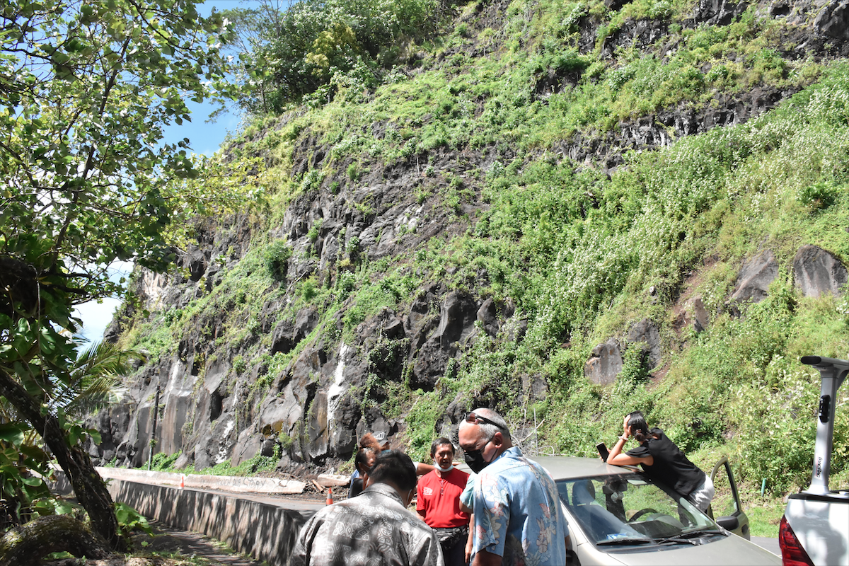 La montagne de Tahuareva est menacée de dynamitage depuis mai dernier.
