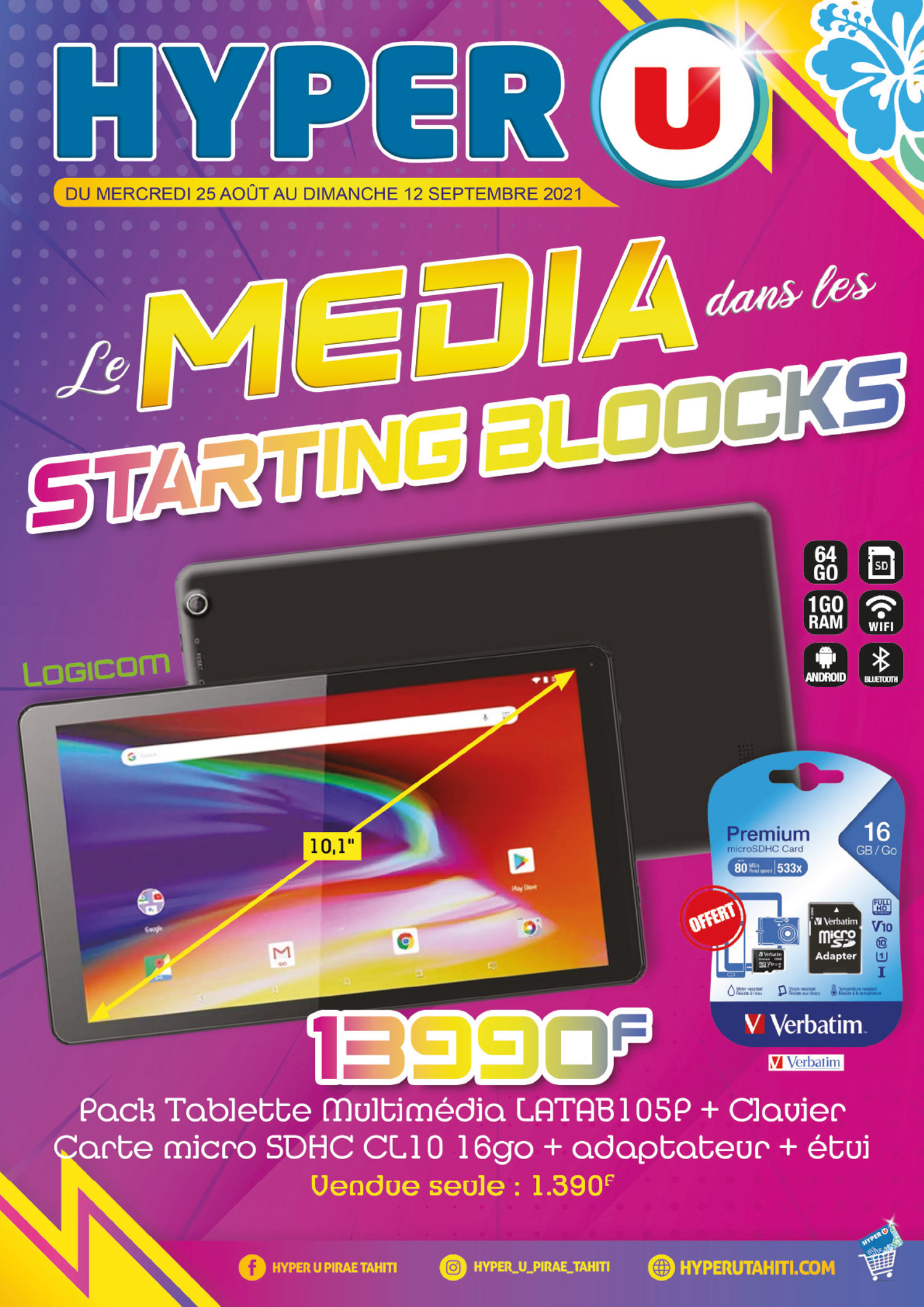 Le Média est dans les starting-blocks chez Hyper U !