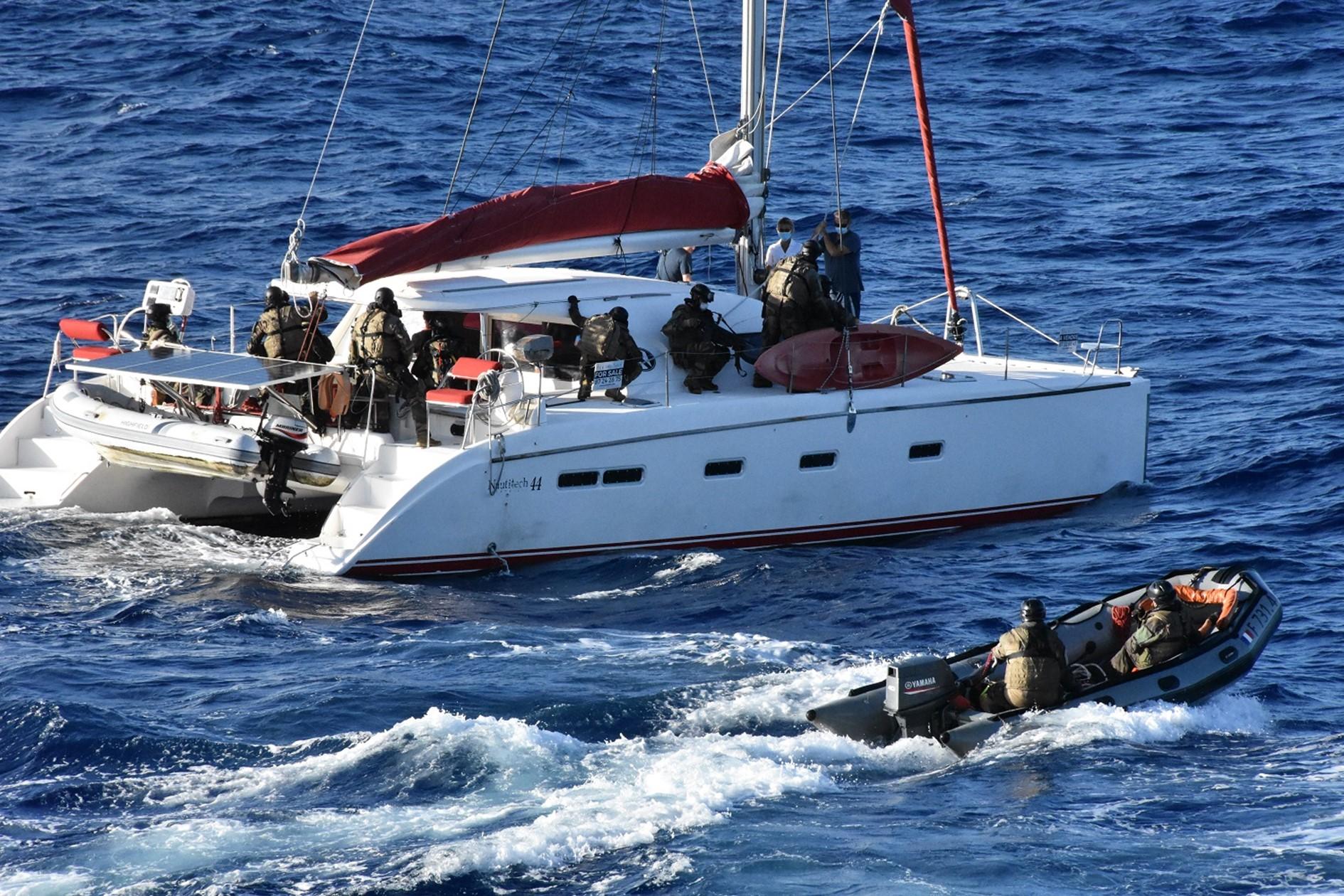 Narcopex, un exercice en mer de lutte contre le narcotrafic
