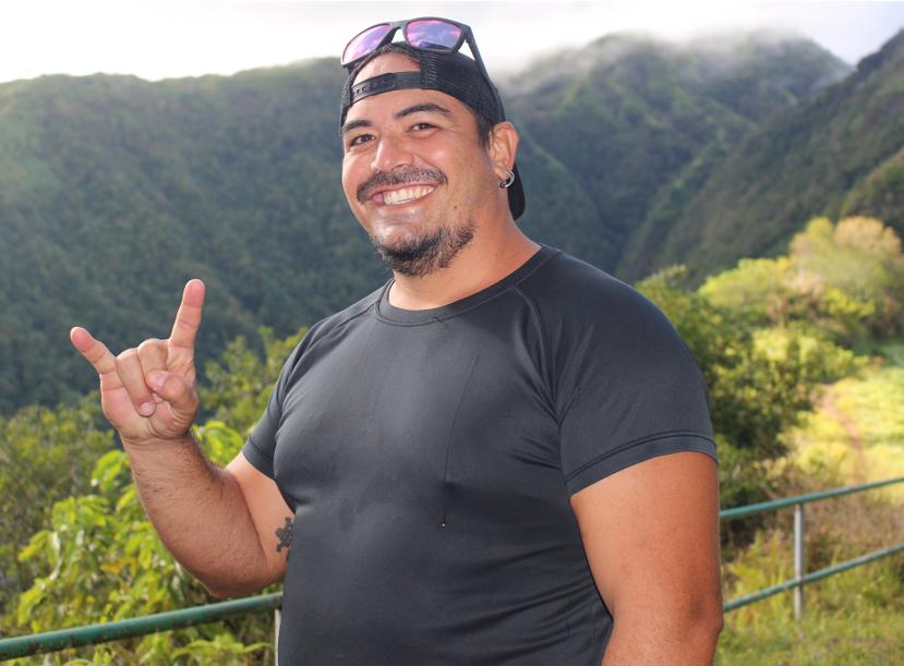 Hitinui Levy, 40 ans, originaire de la Presqu'île