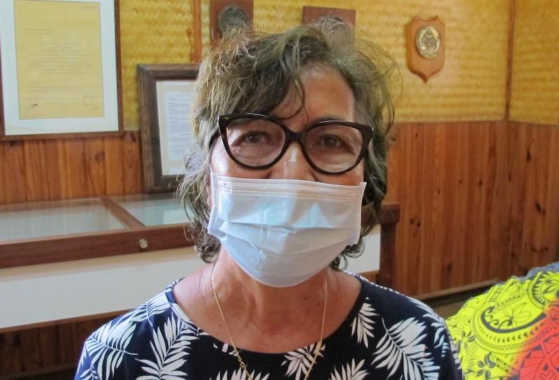 Jeanne-Marie Kautai, 1ère adjointe au maire de Nuku Hiva.