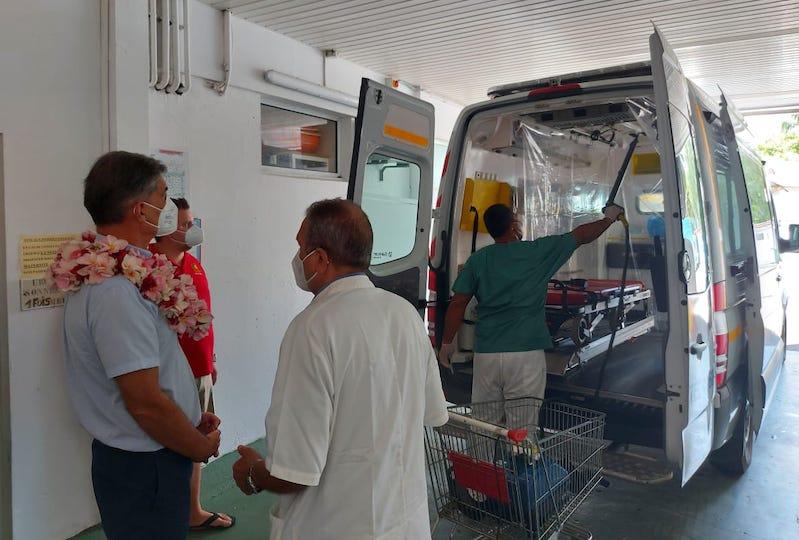À Raiatea, le haut-commissaire appelle à la vaccination