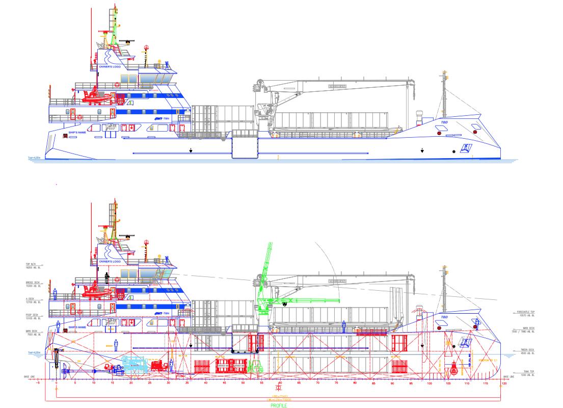 La construction du Mareva Nui II devrait débuter en fin d'année et durer entre 19 et 24 mois.