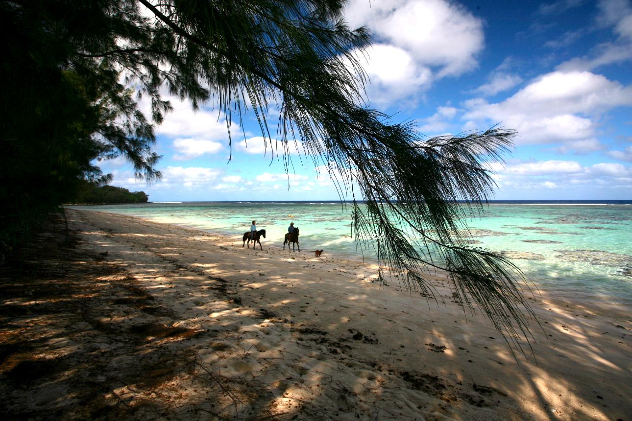 Rututu côté plage