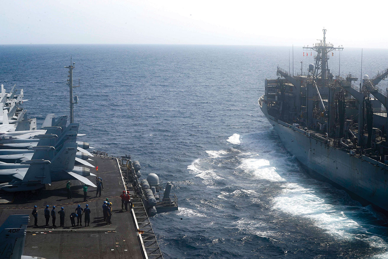 MC3 Darion Chanelle Triplett / Navy Office of Information / AFP