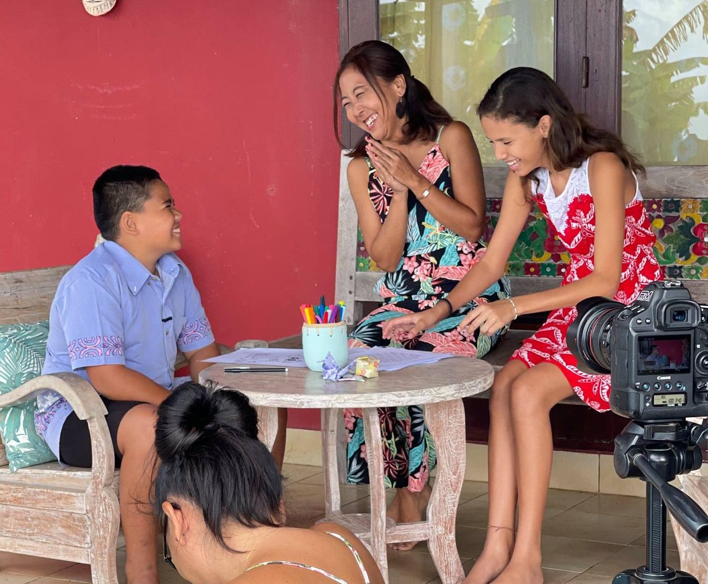 Le reo tahiti du quotidien avec Tama et Vai